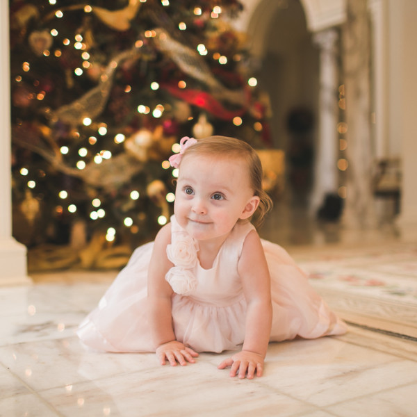 Savannah's One Year Portraits