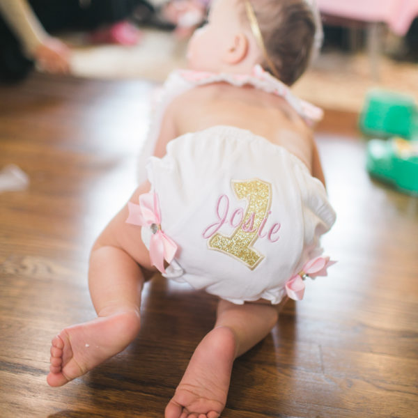 Baby Girl Turns One ~ Cake Smash! {Cumming Baby Photographer}