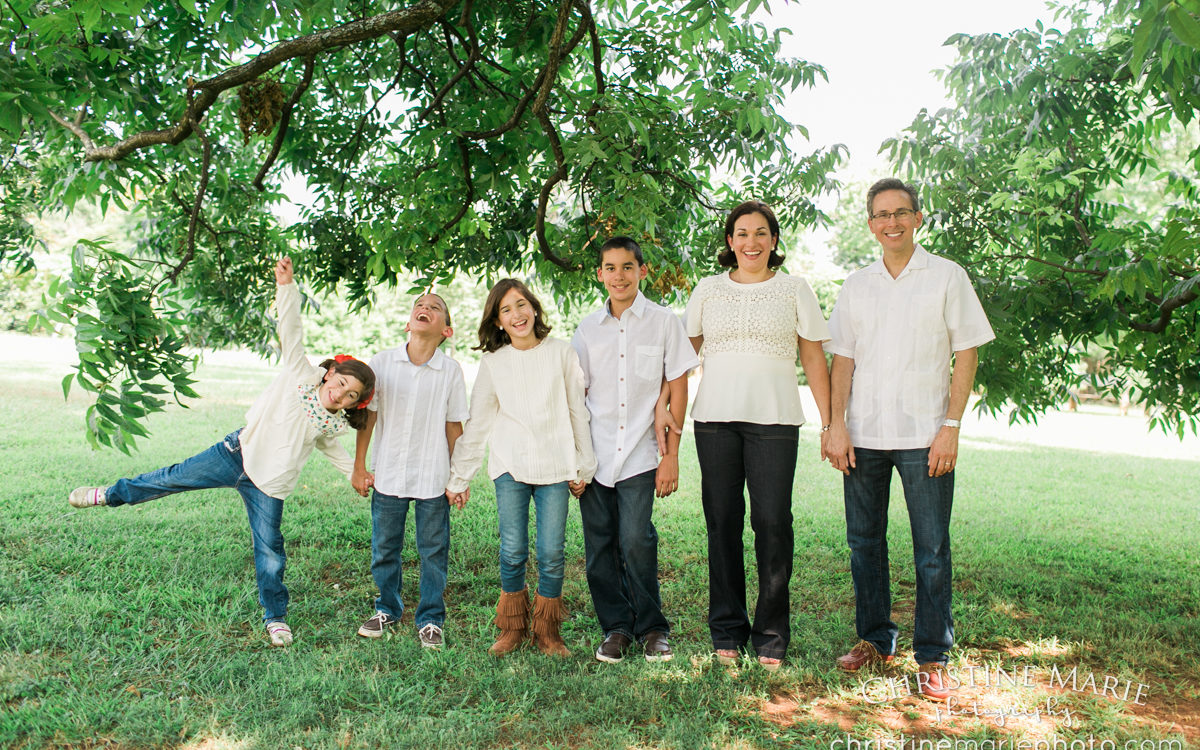 Large family outdoor photo session ~ Barrington Hall | Roswell Family Photographer
