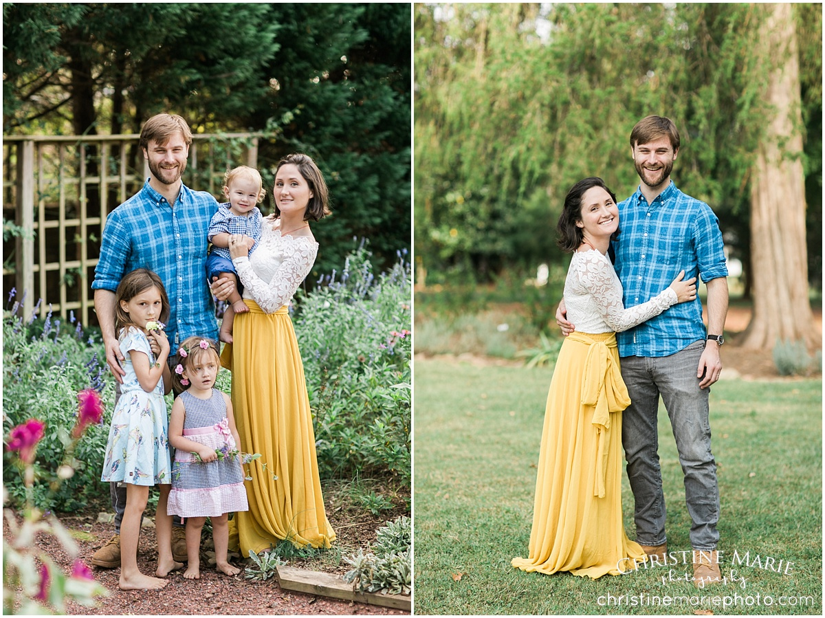beautiful family of five photo session